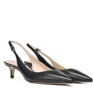 Sam Edelman Ludlow size 8 Black Kitten Heel NWOT